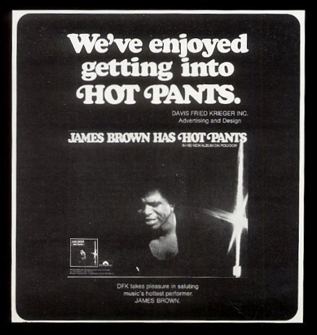 Ad – The James Brown SuperFan Club