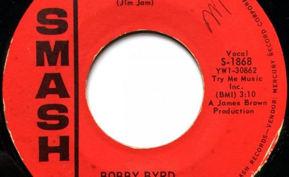 1963 Smash 45: Bobby Byrd - I'm Just a Nobody part 1
