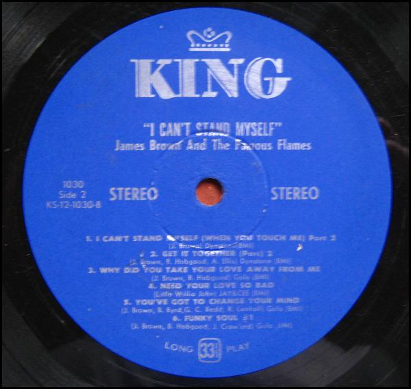 1968 King Lp I Can T Stand Myself When You Touch Me The