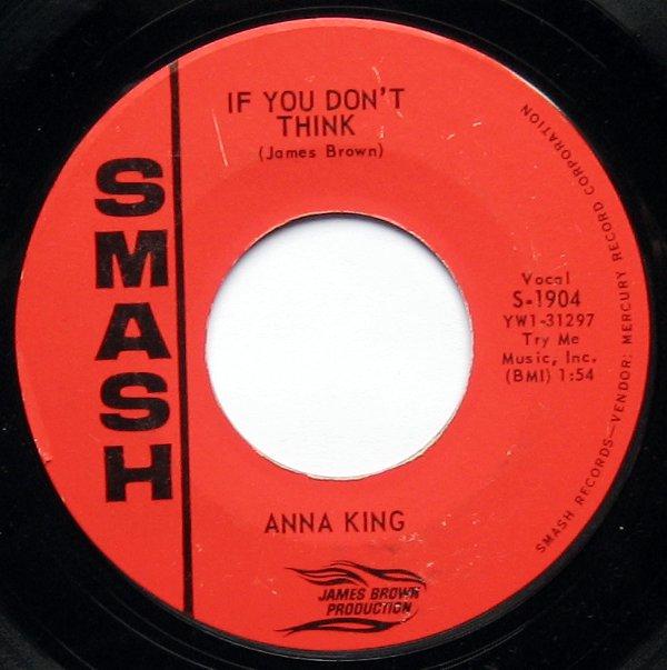 Anna King Bobby Byrd Baby Baby Baby