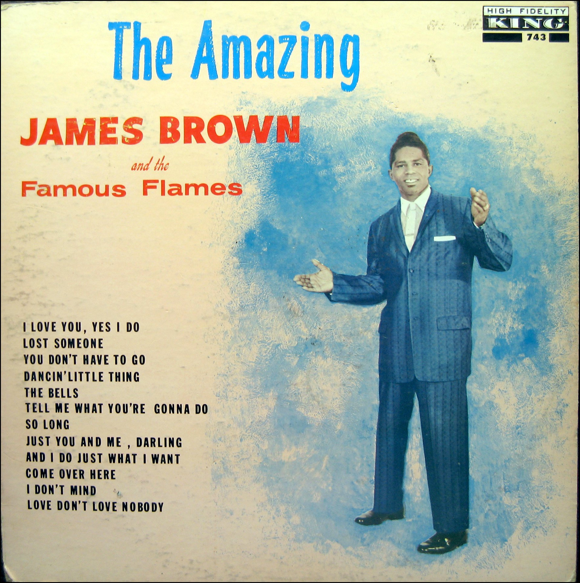 1961 king lp the amazing james brown the james brown