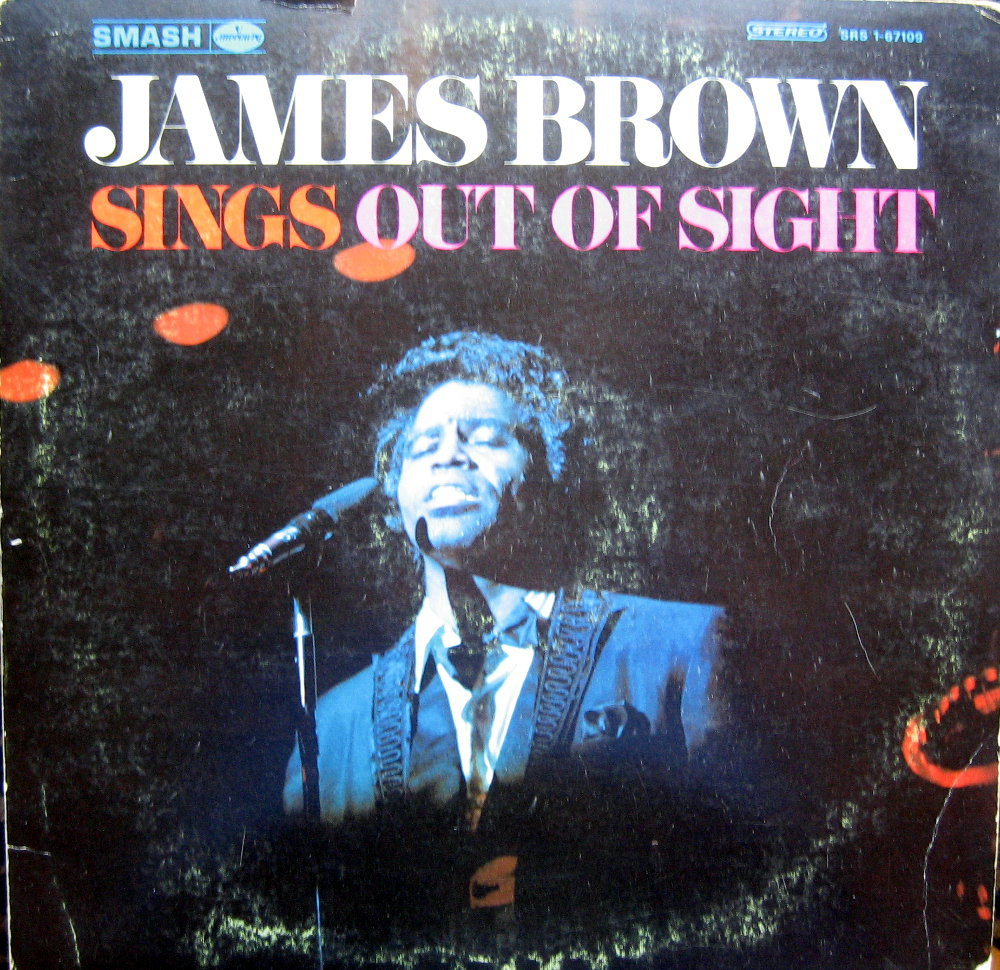 1968 Smash LP: James Brown Sings Out of Sight - Front Cover