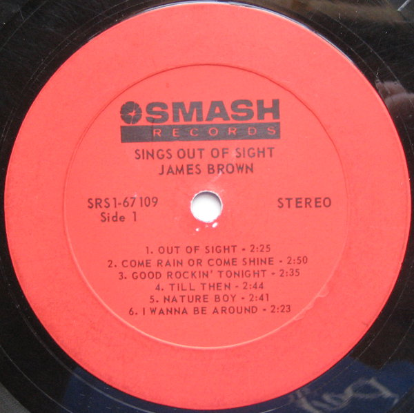 1968 Smash LP: James Brown Sings Out of Sight - Side 1