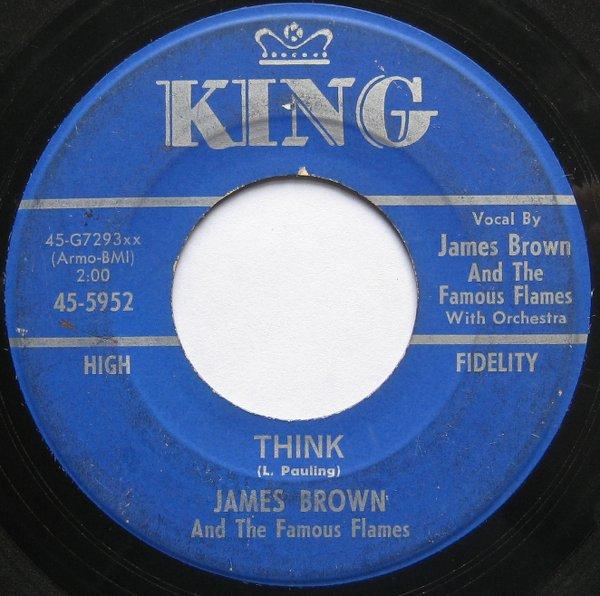 1964 King 45: James Brown - Think