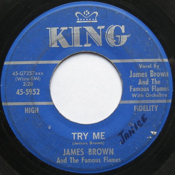 1964 King 45: James Brown - Try Me