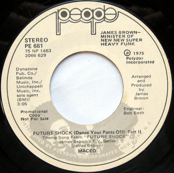 1975 People 45: Maceo - Future Shock (Dance Your Pants Off) Part  2