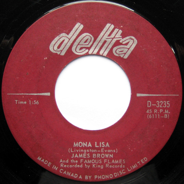1967 Delta 45: James Brown - Mona Lisa