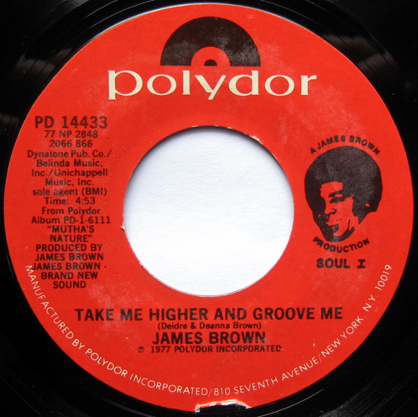 1977 Polydor 45: Take Me Higher and Groove Me