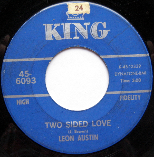 1967 King 45: Leon Austin - Two Sided Love