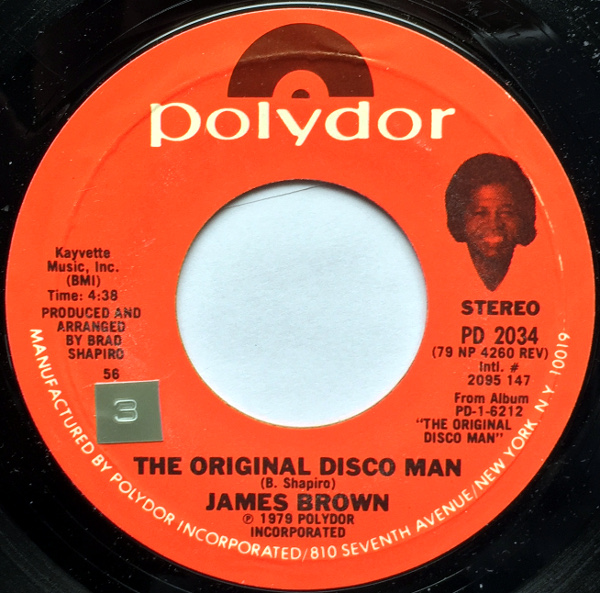 1979 Polydor 45: The Original Disco Man