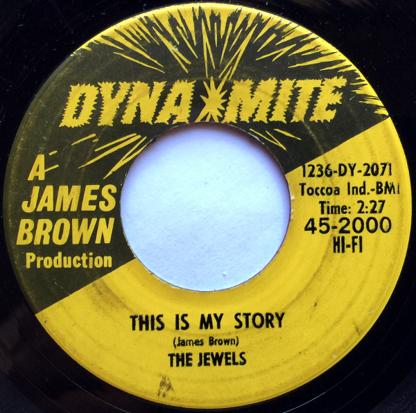 1965 Dynamite 45: The Jewels - This Is My Story