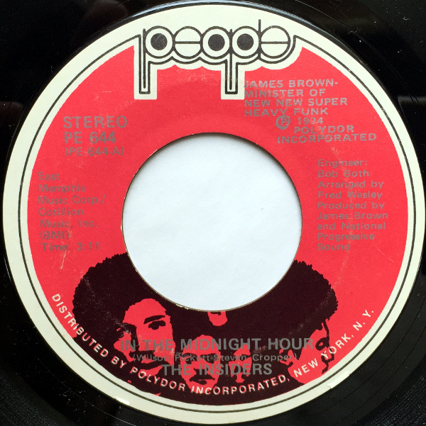 1974 People 45: The Insiders - In the Midnight Hour