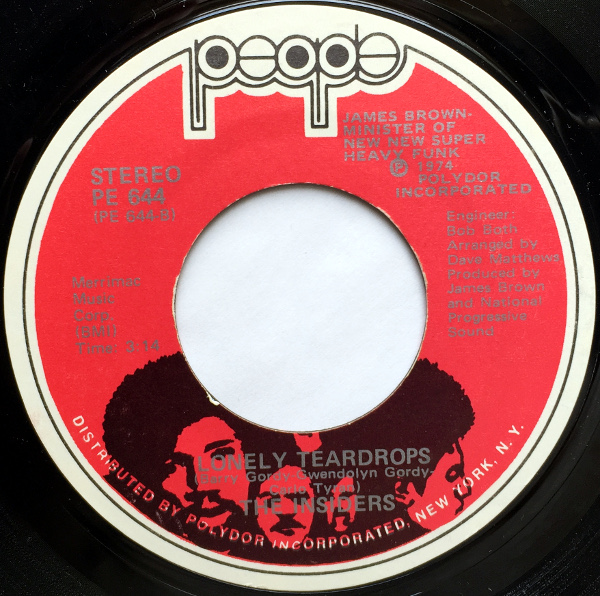 1974 People 45: The Insiders - Lonely Teardrops
