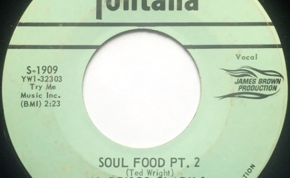 1964 Fontana 45: Al Brisco Clark - Soul Food, Pt. 2