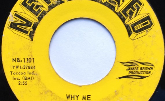 1966 New Breed 45: Dizzy Jones - Why  Me