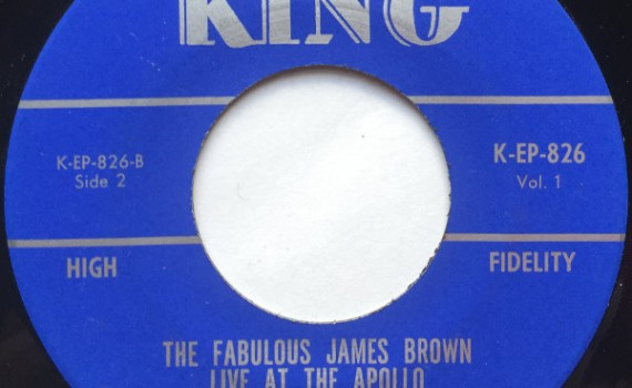1964 King EP:  James Brown Live at the Apollo - side 2