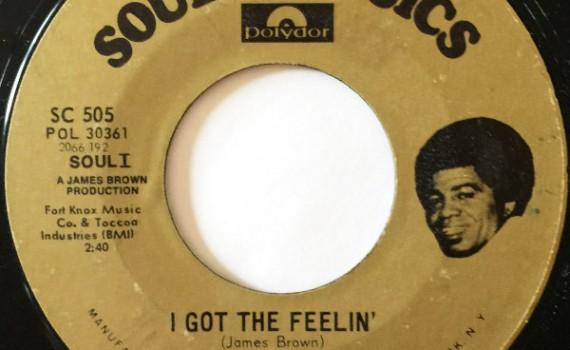 1972 Polydor Soul Classics 45:I Got the Feelin' (Reissue)