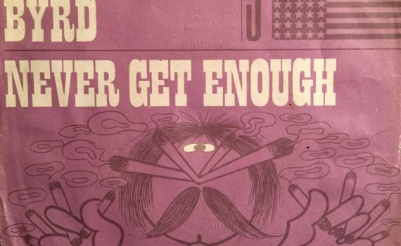 1972 paper sleeve of Bobby Byrd 45