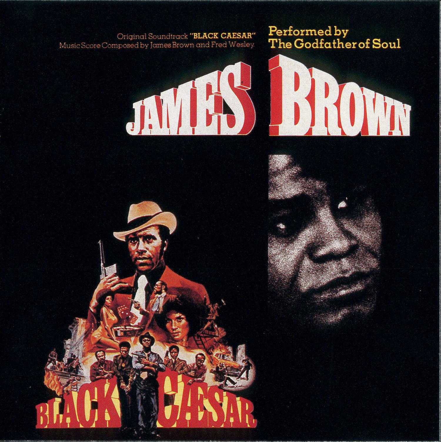 1973 Polydor Lp Black Caesar Soundtrack The James
