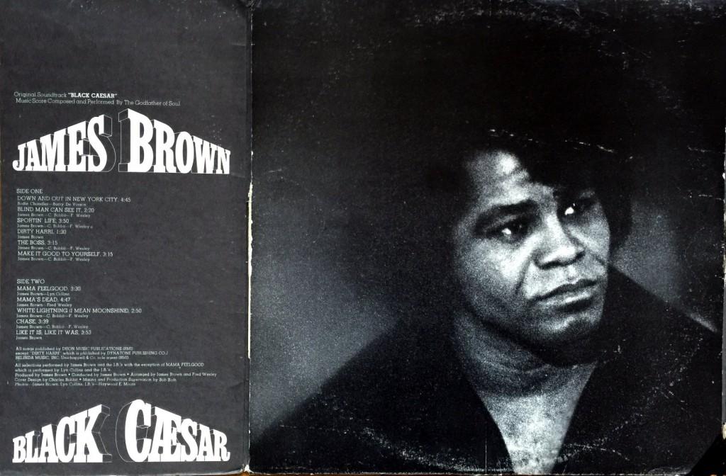 1973 Polydor LP: Black Caesar (Soundtrack)