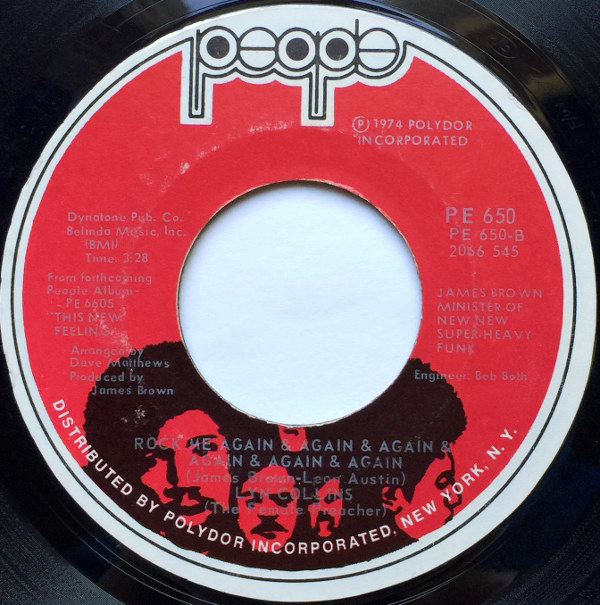 1975 People 45: Lyn Collins – You Can't Love Me, If You Don't Respect Me/Rock Me Again and Again and Again and Again and Again and Again