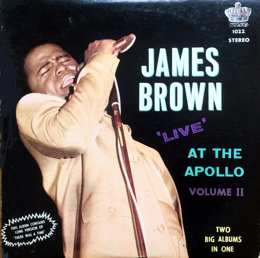 1968 King LP: James Brown Live at the Apollo Volume II